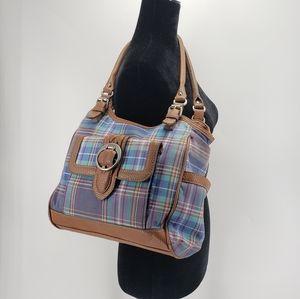 Chaps | Plaid Shoulder Bag | Multicolor